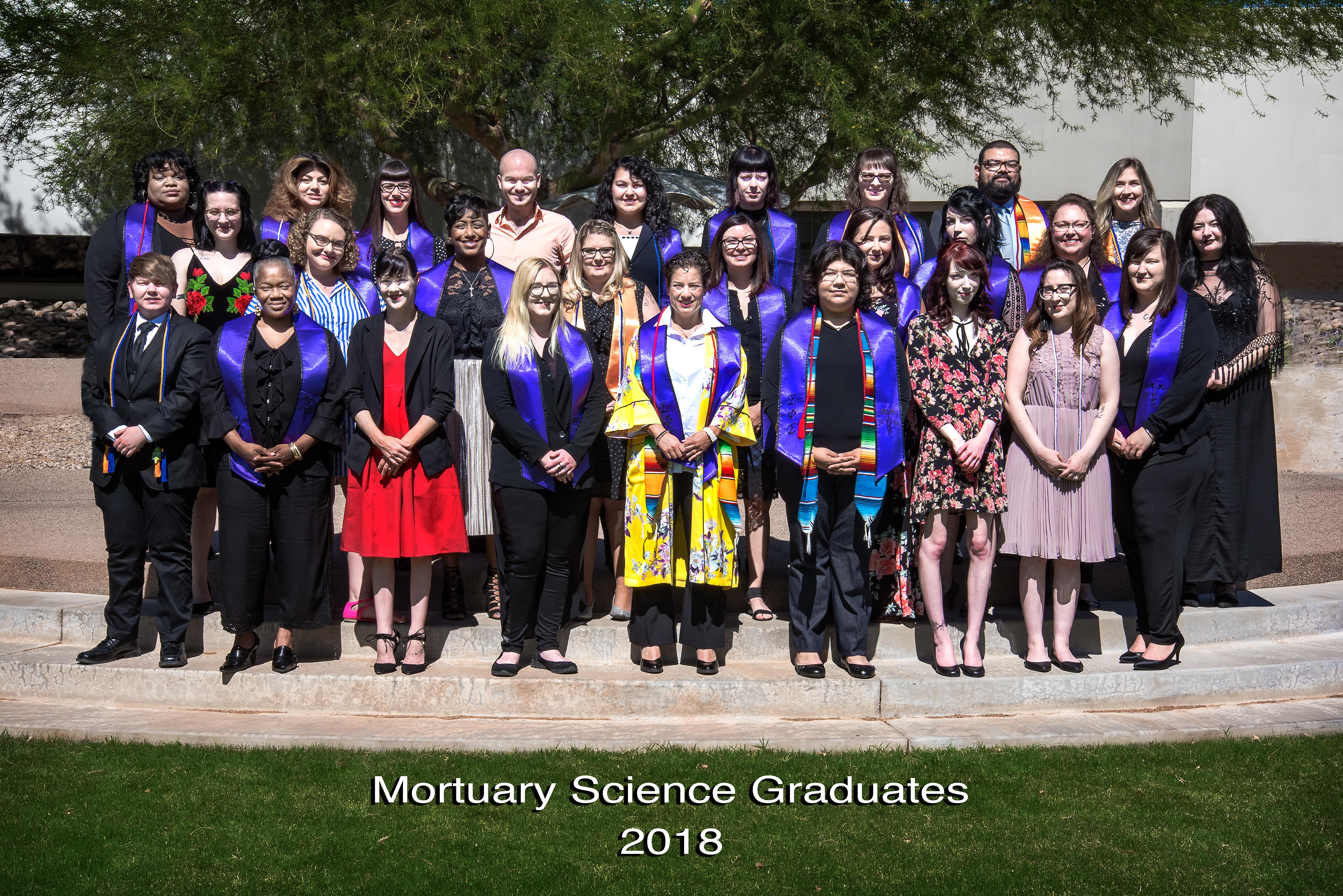 2018 CGCC Mortuary Science Graduation and Scholarship
