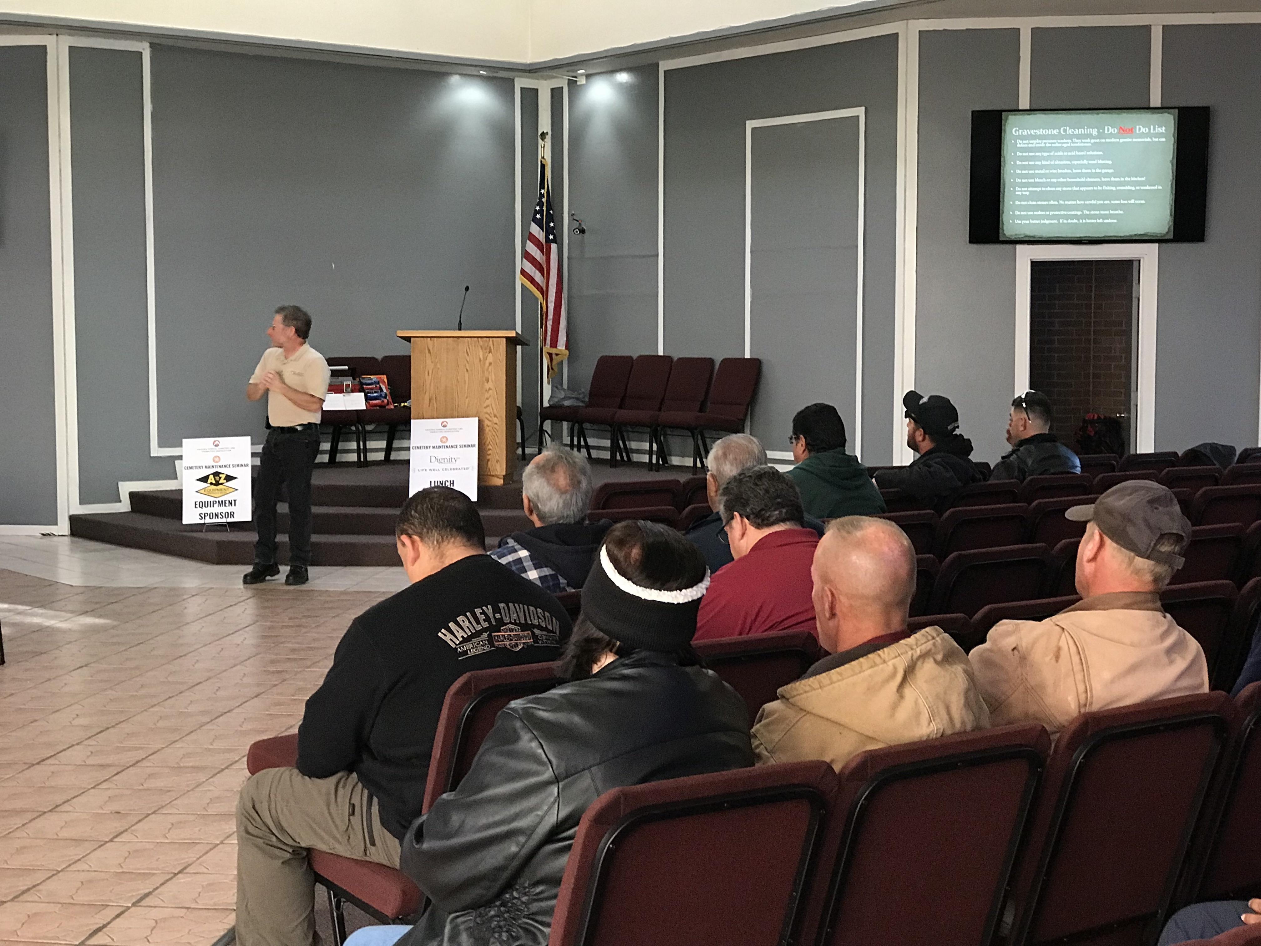 2019 AFCCA Cemetery Maintenance Seminar Recap - AFCCA